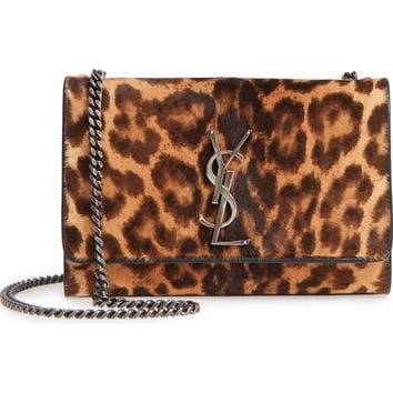 Saint Laurent Small Kate Genuine Calf Hair Shoulder Bag | Nordstrom