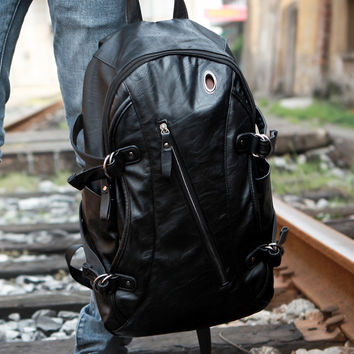 College Comfort Hot Deal Back To School On Sale Men Stylish Fashion Ppurses Casual Korean Backpack [6542309763]