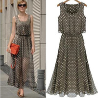 Sexy Women Summer Boho Long Maxi Evening Party Dress