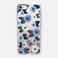 Casetify iPhone 7 Classic Grip Case - Tiny Flowers by Li Zamperini Art #iPhone 7