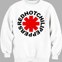 Red Hot Chili Peppers Logo Sweater for Mens Sweater and Womens Sweater *