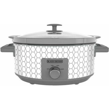 Black and Decker 7-Quart Slow Cooker with 3 Heat Settings - Walmart.com