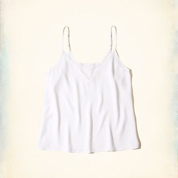 Girls Must-Have Easy Lace Tank   Girls Tops   HollisterCo.com