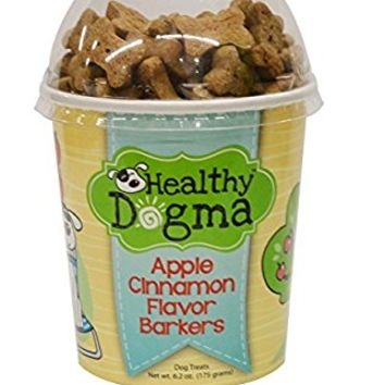 Healthy Dogma Apple Cinnamon Low Fat Mini Bones, 6.2-Ounce