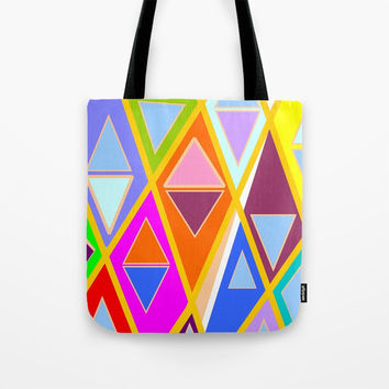 Déco Géo 02 Tote Bag by Zia