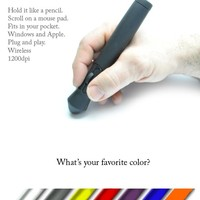 gStick: A Mouse You Hold Like a Pen, for PC's and Macs.