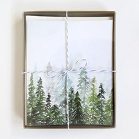 Evergreen - A2 Greeting Card