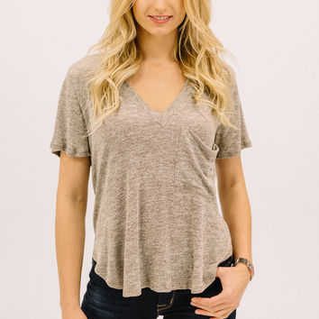 Jersey Knit BF Tee