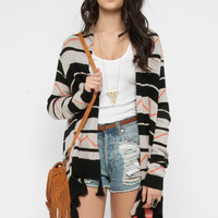 BB Dakota Mikayla Tribal Sweater in Black :: tobi