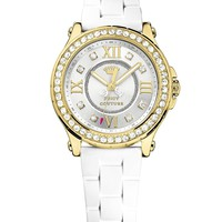 White/Gold Pedigree by Juicy Couture, O/S