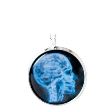 Beautiful X-ray head Necklace for women's