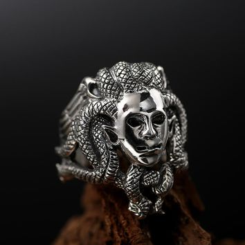 Luxury Solid 925 Sterling Silver Men's Ring
