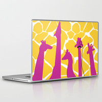 dignified giraffe. Laptop & iPad Skin by chl0xe | Society6