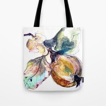 Study of a Pear Tote Bag by Kay Weber