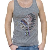 Grateful Dead Vintage Triblend Tank - Men's Tops - Tanks - Junk Food Clothing