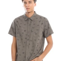 Harry Potter Horcrux Woven Button-Up