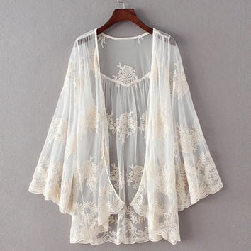 Indiana Lace Duster