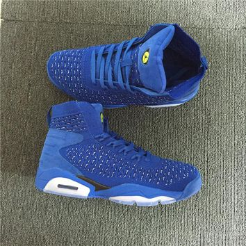 Air Jordan 6 Retro AJ6 Woven CNY Blue Sneaker 41-46