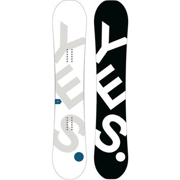 Yes. Basic Snowboard - Wide One Color, 159cm