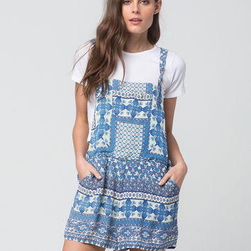 PATRONS OF PEACE Tile Womens Romper | Rompers