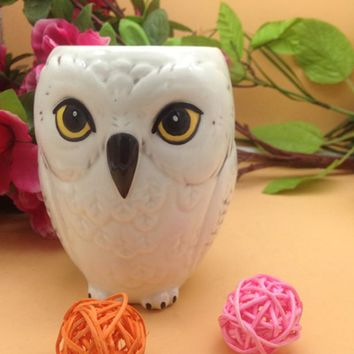 Ceramic Harry Potter Hedwig Owl Mug
