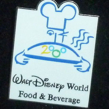 Walt Disney World Food & Beverage 2000 Cast Member Pin