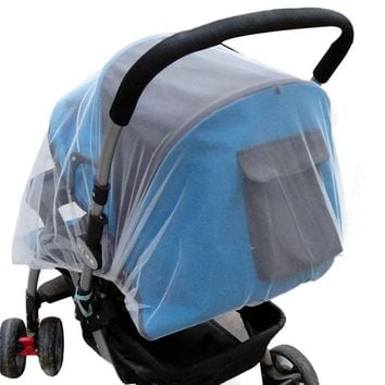 Summer Safe Baby Carriage Insect Full Cover Mosquito Net Baby Stroller Bed Netting