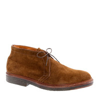Limited-Edition Alden For J.Crew Flex-Toe Chukkas In Suede