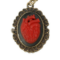 LOVEsick Heart Cameo Necklace