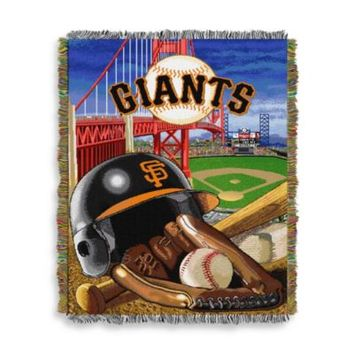 MLB San Francisco Giants Tapestry Throw