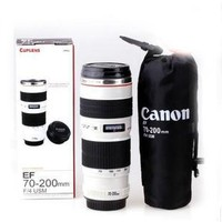 Canon Thermos Mug 70-200 F4 IS USM Lens Look-A-Like