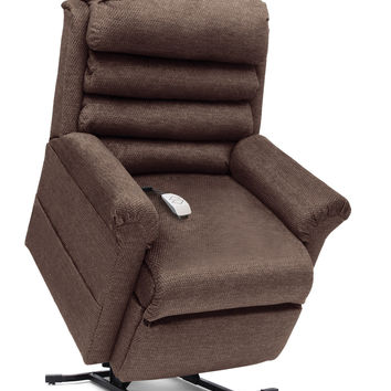 Pride Mobility Elegance Large Full Recline Power Lift Chair, Timber LC-470LT