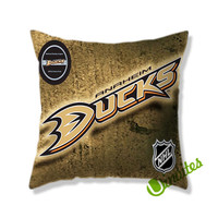Anaheim Ducks Logo 2 Square Pillow Cover