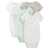 Just One You™ Made by Carter's® Baby 4-Pack Bodysuit - Green