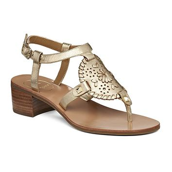 Gretchen Sandal in Platinum by Jack Rogers - FINAL SALE