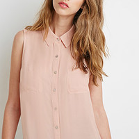 Lace-Paneled Pocket Shirt