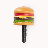 Quirky Hamburger Phone Charm