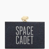 Kate Spade New York Over the Moon Jett Glitter Clutch