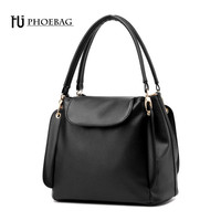 HJPHOEBAG Women Bucket Bag female Autumn summer Scrub Bucket Bag Women pu Handbags Ladies Shoulder Bag Zipper & Hasp bags Z-31