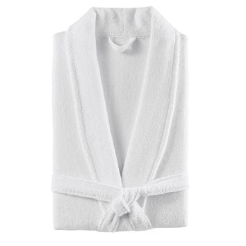 Plush Turkish Cotton Robe | White