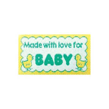Sewing Labels Quilting Labels Made with love for Baby BL-LL2555