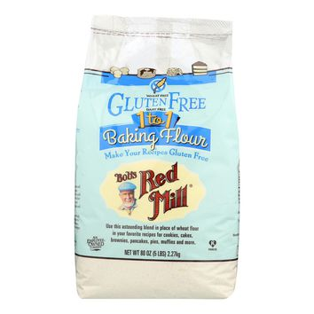 Bob's Red Mill Gluten Free 1-to-1 Baking Flour - 5 Lb - Case Of 4