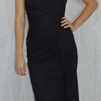 Mother of the bride or groom. Flirty, sexy wrap dress