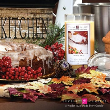 Fall Kitchen Jewelry Candles