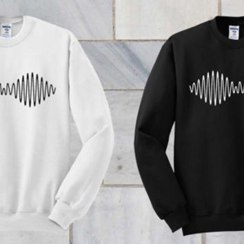 Arctic Monkeys AM Album Either Sweatshirt Hoodie Sweater Unisex - Size S M L XL