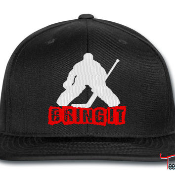 BRING IT ICE HOCKEY snapback