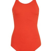 Multi Strap Ribbed Body - Tops - Clothing