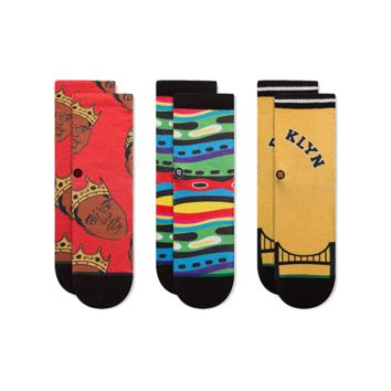 STANCE BIGGIE TODDLERS SOCK SET