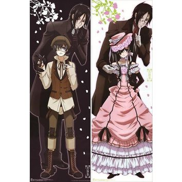 New Black Butler (Kuroshitsuji) Anime Dakimakura Japanese Pillow Cover ContestThree3