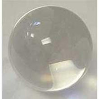 110mm Clear Crystal Ball